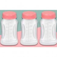 image of Breastmilk Storage Bottles 7oz*3unit