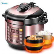 image of MIDEA MY-YL50SIMPLE101 PRESSURE COOKER(5L)*readystock