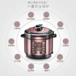 MIDEA MY-YL50SIMPLE101 PRESSURE COOKER(5L)*readystock