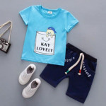 (clearance) Kids boy cloth wear set #readystock
