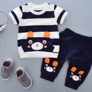 image of (clearance) Kids boy cloth wear set #readystock