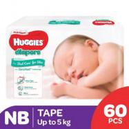 image of Huggies Platinum Diaper Nb 90