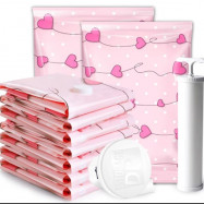 image of 8pcs Vacuum Bags with Pump