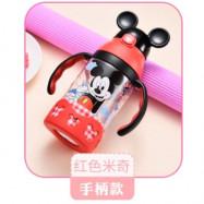 image of Disney mickey minnie water straw bottle 400ml