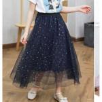 EZBM GIRL KIDS STAR BLING DRESS(size140)