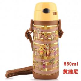 image of Disney Winnie the Pooh straw bottle 550ml