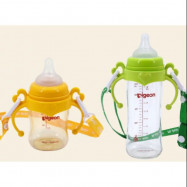 image of Handle and String for Pigeon PPSU Wide Neck Bottle
