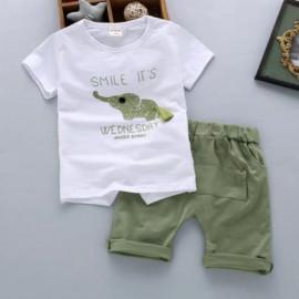 image of (clearance) Kids boy cloth wear set #readystock