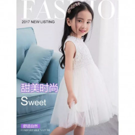 image of (Clear stock) Girl dress size130
