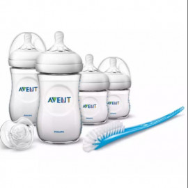 image of Philips Avent NaturalSofter Teats Newborn Starter Set( SCD290/11)