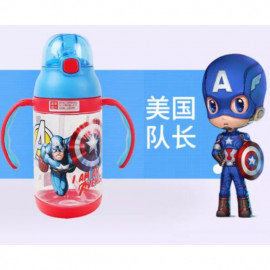 image of Disney water bottle with handle 400ml