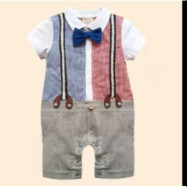 image of Ezbm baby boy romper