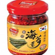image of Hengs cripy seaweed chili 160g