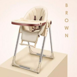image of Multifunctional foldable baby dinning high chair