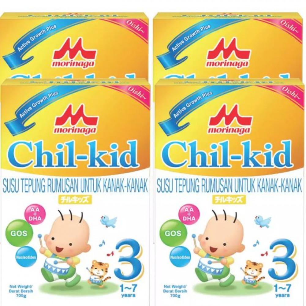 Morinaga Chill-Kid 3 Oishi 700g x4 boxes