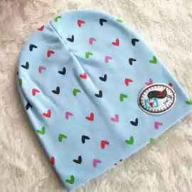 image of EZBM BABY CAP BLUE Suitable for 0-12m baby