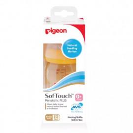 image of PIGEON PPSU WIDE NECK Nursing Bottle with Peristaltic PLUS™ Nipple