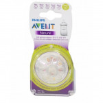 AVENT TEATS NATURAL FAST FLOW 9M+ Extra Soft
