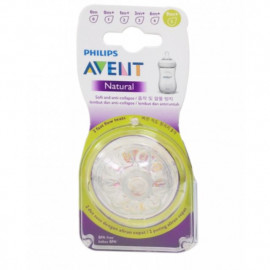 image of AVENT TEATS NATURAL FAST FLOW 9M+ Extra Soft