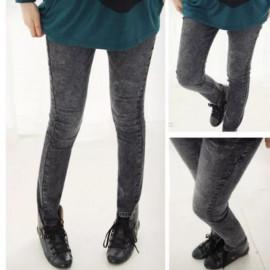 image of EZBM maternity jeans long pants(black)