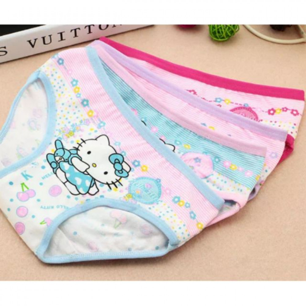 EZBM kids cotton underwear/ panties(2pcs random colour)