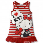 Ezbm kids kitty dress /kids wear