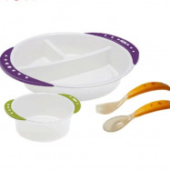 image of NUK toddler plate set
