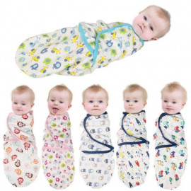 image of Lamds ivy SwaddleMe Adjustable Infant Wrap / Newborn Toddler Swaddle Wrap