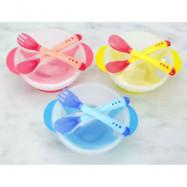 image of EZBM baby bowl with sucker set