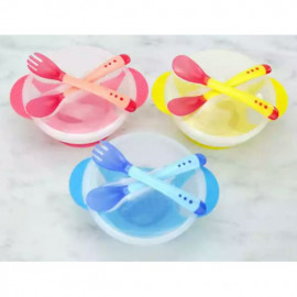 image of EZBM baby bowl with sucker set