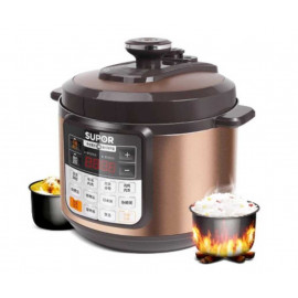 image of SUPOR PRESSURE COOKER(5L) Come with 2pot  #readystock