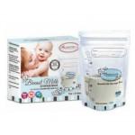 (clearance) Autumnz Double Ziplock 7oz  Breastmilk Storage Bag(25+3pcs)