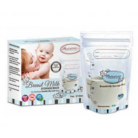 image of (clearance) Autumnz Double Ziplock 7oz  Breastmilk Storage Bag(25+3pcs)