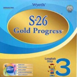 image of Wyeth S26 Gold Progress Step 3 Sachet Sampling 200g Powder Expired Date : 12/2019