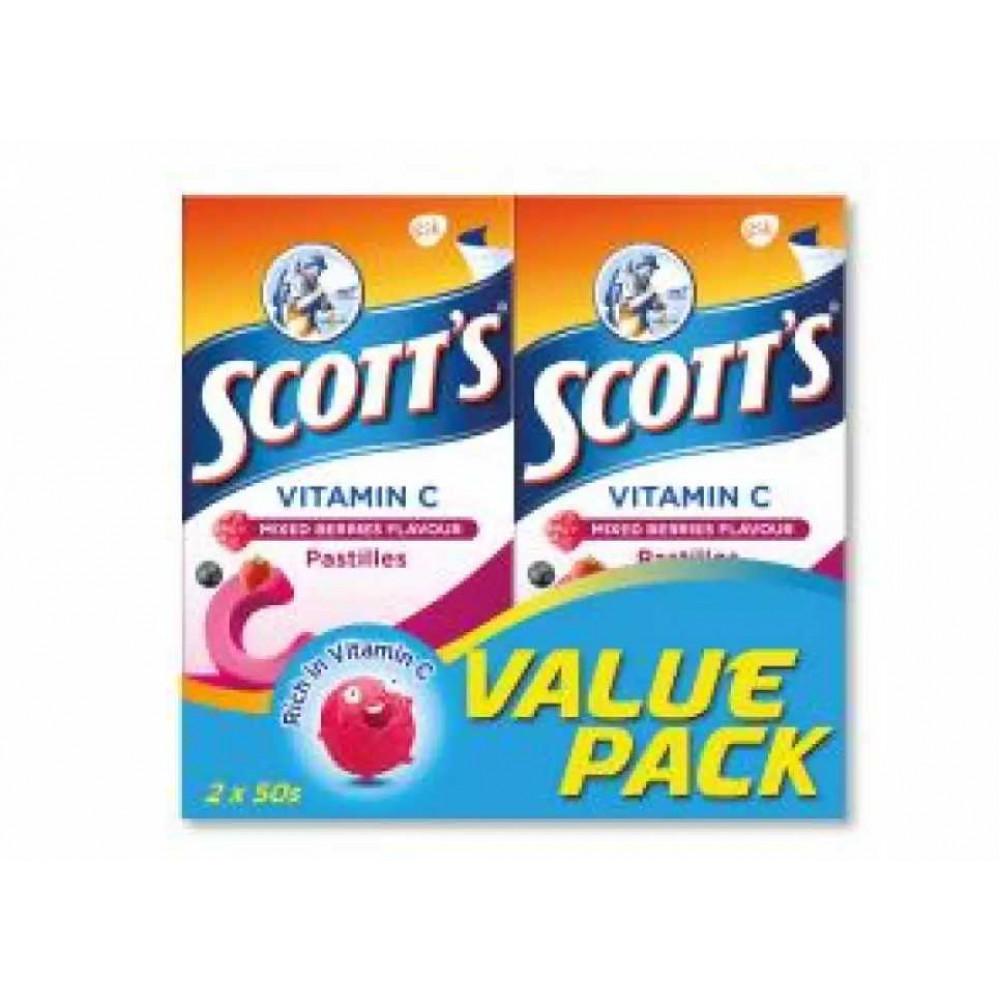 Scotts vitamin c 50s twinpack