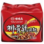 味味A排骨雞麵(5包入)