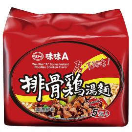 image of 味味A排骨雞麵(5包入)