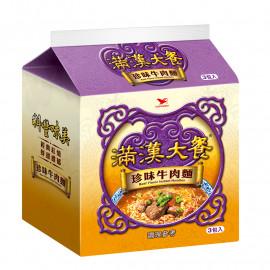 image of 滿漢大餐珍味牛肉(袋) 173g Man Han Beef Noodles (Pack) 173g