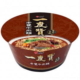 image of 一度贊-老甕牛肉麵(碗) 185g Beef Noodle (bowl) 185g