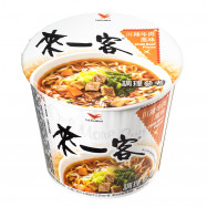 image of 來一客川辣牛肉 67g  Sichuan Spicy Beef 67g
