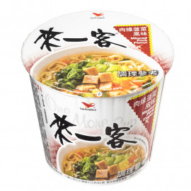 image of 來一客-肉燥菠菜 67g Minced Pork & Spinach Noodle 67g