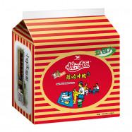 image of 統一辣味蔥燒牛肉麵(5包入)