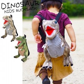 image of 日本恐龍小朋友後背包 立體恐龍後背包 暴龍