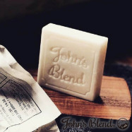 image of 日本進口John's Blend香氛皂 滋潤保濕 肥皂 蘋果梨 精油香皂 沐浴 洗手