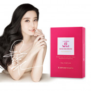 image of JAYJUN玫瑰水潤精華面膜10入 【康是美】 JAYJUN Rose Moisturizing Essence Mask 10 in pack