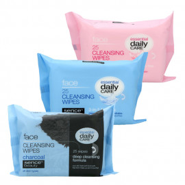 image of 歐洲 Sencebeauty 卸妝紙巾(一般肌、油性肌、敏感肌) 25pcs