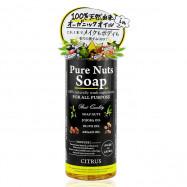 image of 日本 PURE NUTE SOAP 8合一純天然配合潔淨露 260mL #.柑橘清香
