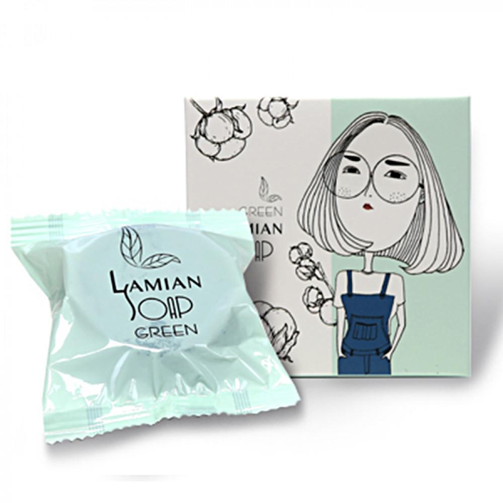 韓國 Lamian 蜘蛛絲皂白天鵝 65g