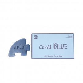 image of 韓國 aplb 拼圖絲綢皂 強效保濕(珊瑚藍)