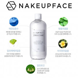 image of 韓國 NAKEUP FACE 零壓力爽膚水 500ml